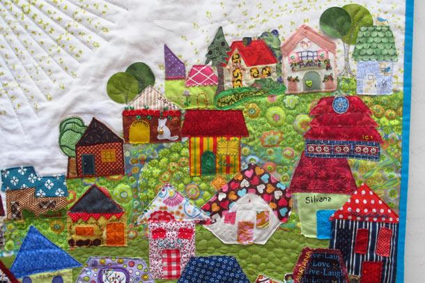 Patchwork uma verdadeira obra de arte artesanato na rede - Casas de patchwork ...