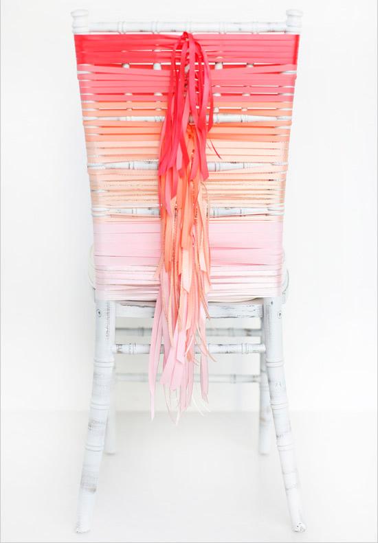 Cadeira linda e pronta!