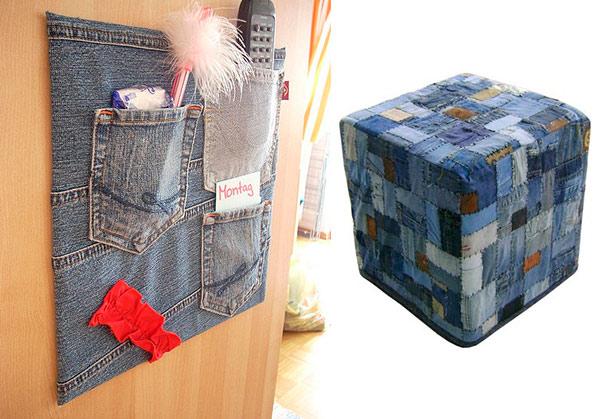 Reciclagem De Jeans Artesanato Na Rede