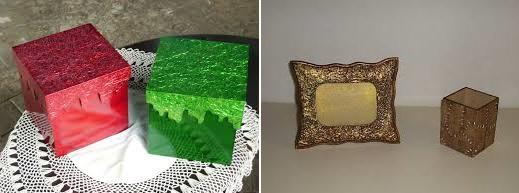 Artesanato Com Eva Para Escola ~ Latonagem com papel alumínio Artesanato na Rede