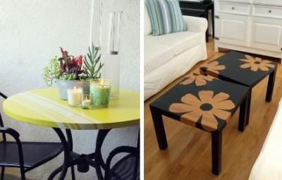 como reformar mesa de madeira de varanda deck - Cópia