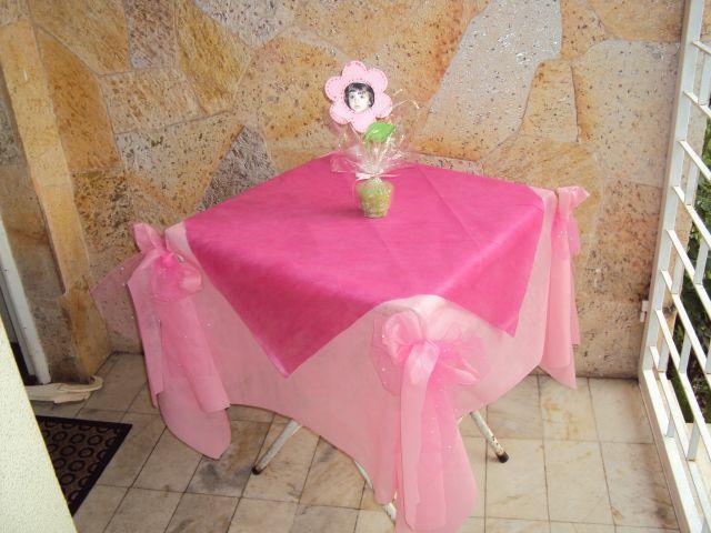 Dica de decoração para mesas com TNT  Artesanato na Rede