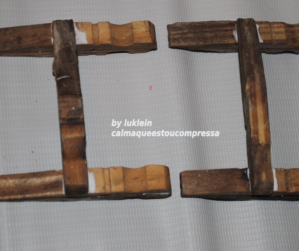 Mini Cadeirinha de Balanço de Prendedores Artesanato na Rede #8D683E 1276x1071