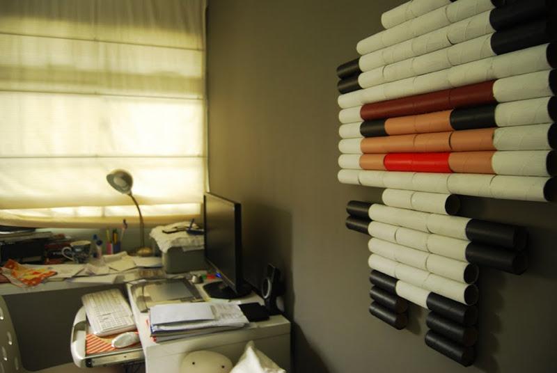 5 ideias de artesanato para reaproveitar o rolo de papel - Decoracion con rollos de papel higienico ...