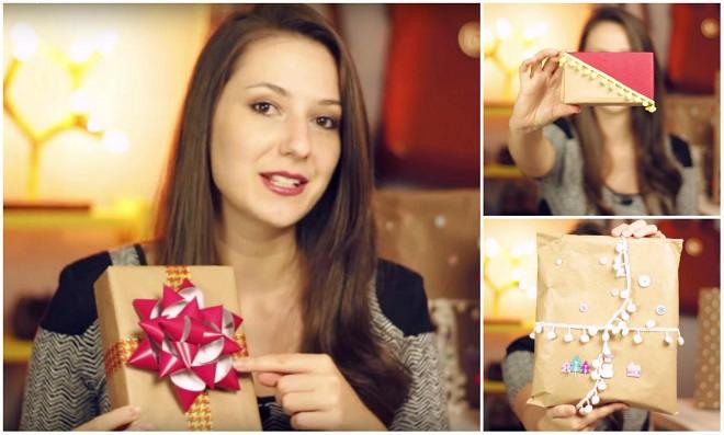 7 Ideias para o natal: pacotes de presente usando papel pardo