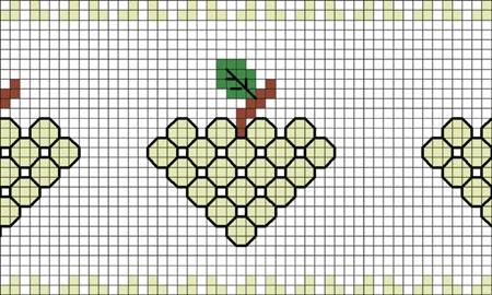 ponto-cruz-uva-verde