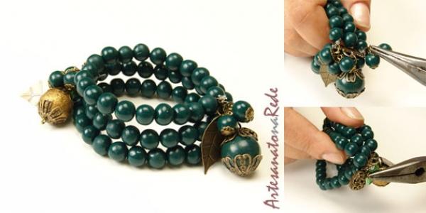 pulseira-de-contas-verde