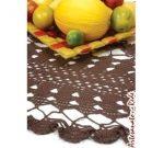 toalha mesa croche