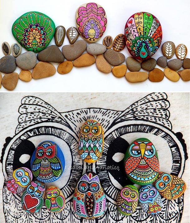 Corujas é o foco da artesã