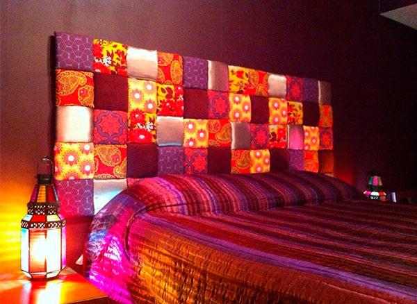 Painel super moderno pra cama!