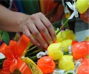 Buquê flores sabonete
