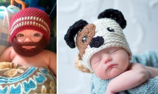 Bebês e Crochê