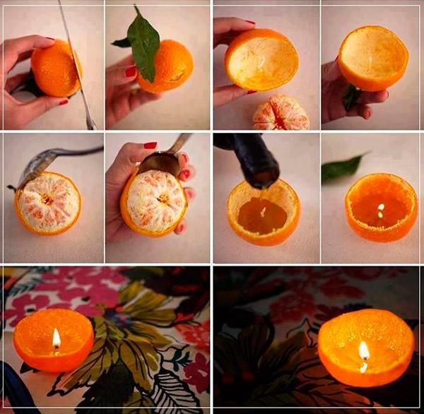 Essa promete aroma de laranja!