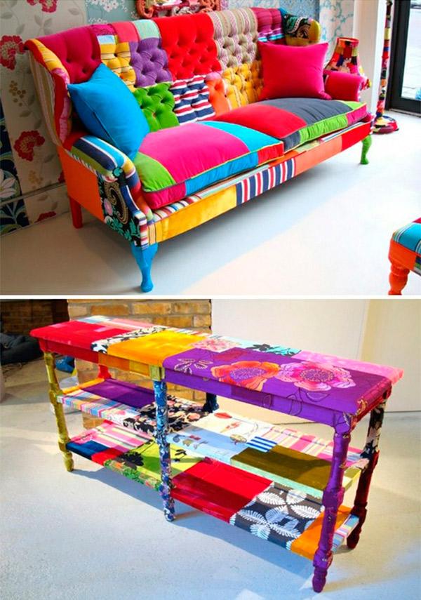 Revestimentos super coloridos e modernos