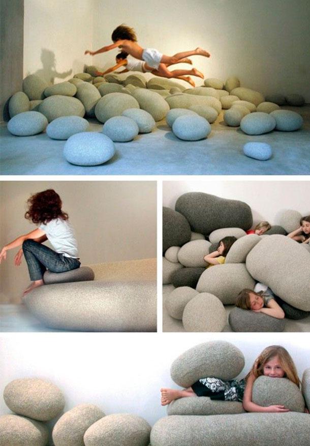 Formato de pedras!!! Muito legal!