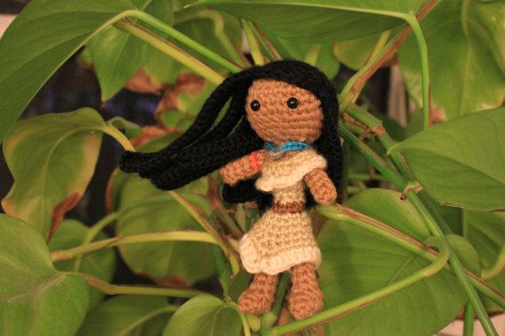Linda essa Pocahontas!