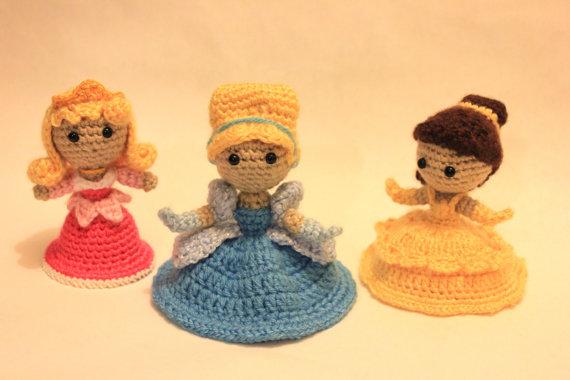 Princesas em Crochê