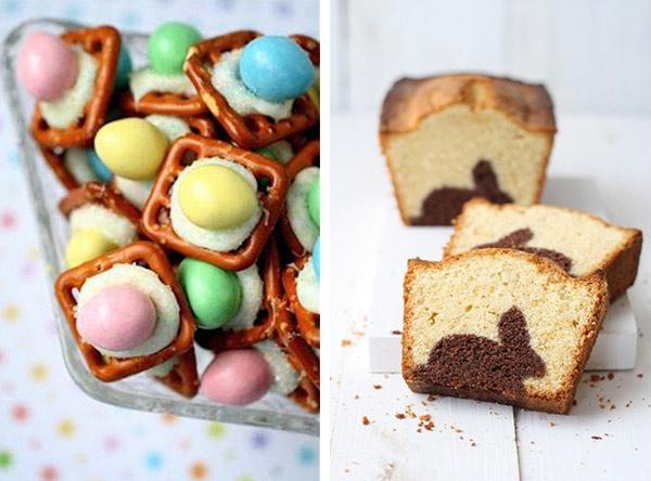 Misturinhas gostosas e bolo com surpresa!