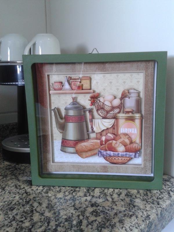 Quadro 3D para Cozinha