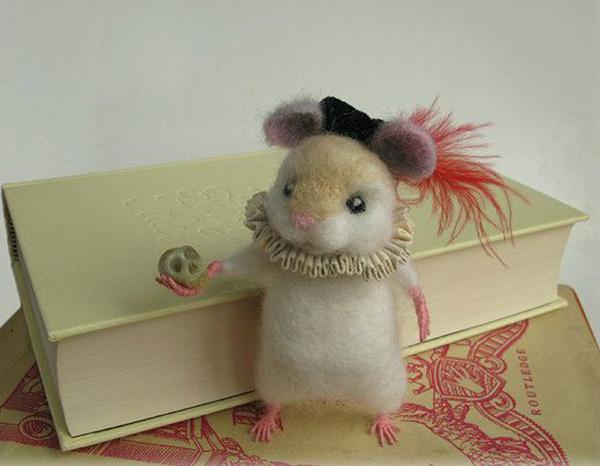 Ratinho ou pensador?