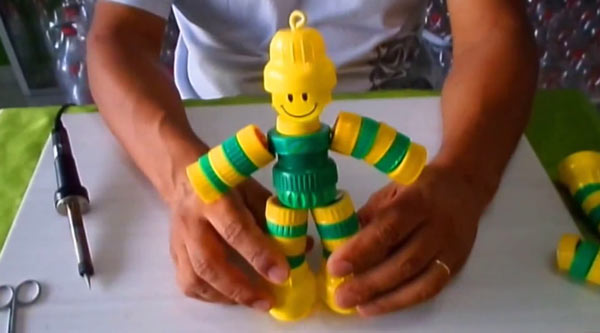 Boneco de Tampas do Brasil
