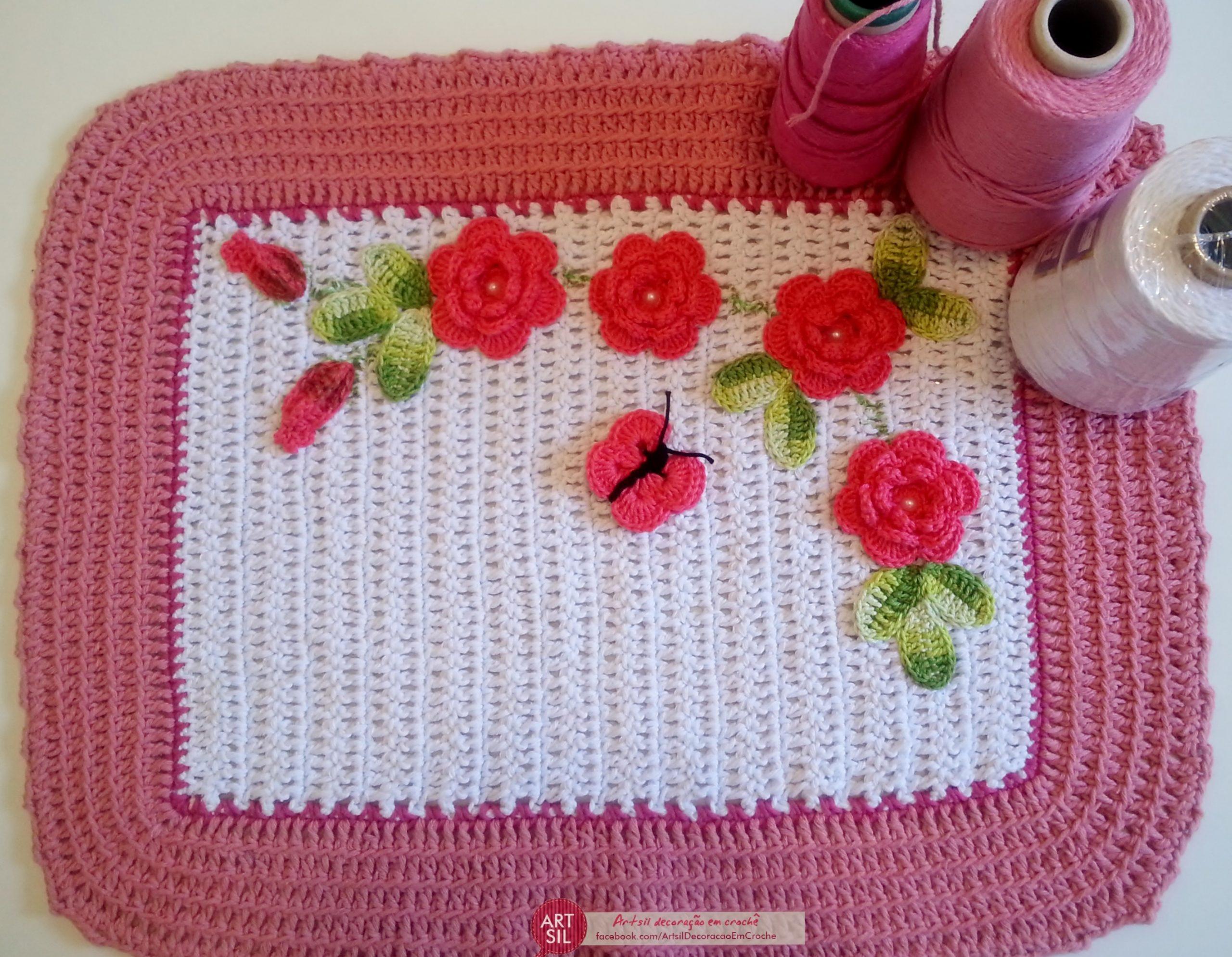 Arteiras e crocheteiras, apresentamos a Artsil Decoração em Crochê!