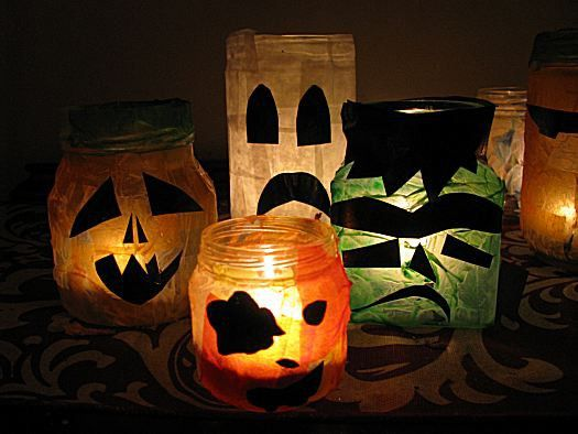 halloween-decoracao-vidros-reciclar