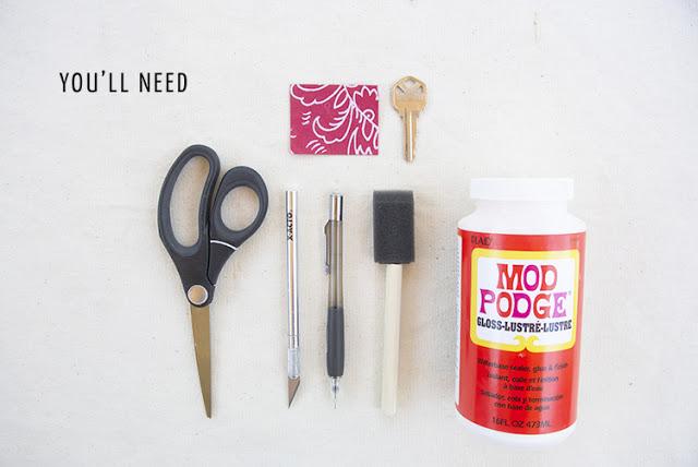 DIY-Idea-Craft-Project-Color-Code-Key-Cover-Identifier-Keys-Topper-Make-Supplies-Tutorial