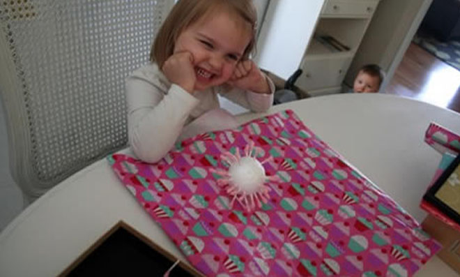 flor de cotonetes