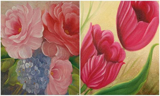 Pinturas Florais