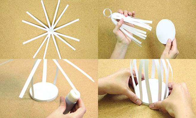 gaiolinhas de papel