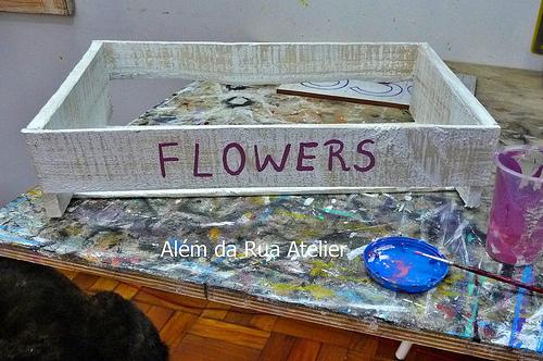 Aprenda como reaproveitar caixotes com pátina - 004