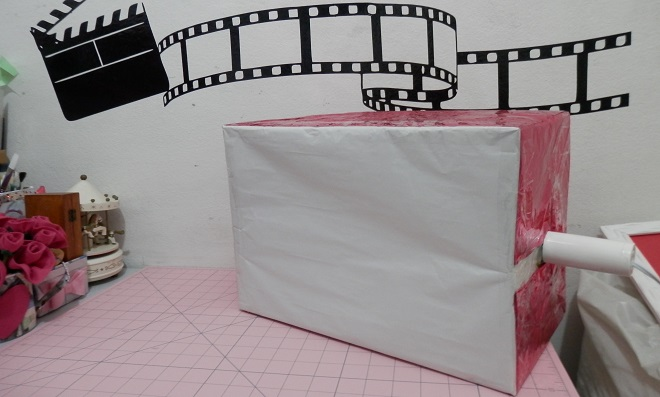 Filme seus trabalhos com uma Luminária caseira!