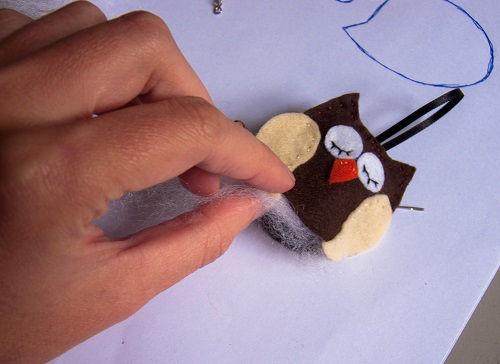 chaveiro de coruja em feltro(6)