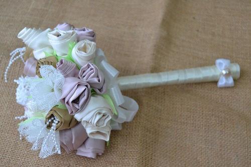 bouquet de noiva com flores de tecido - Irene (2)