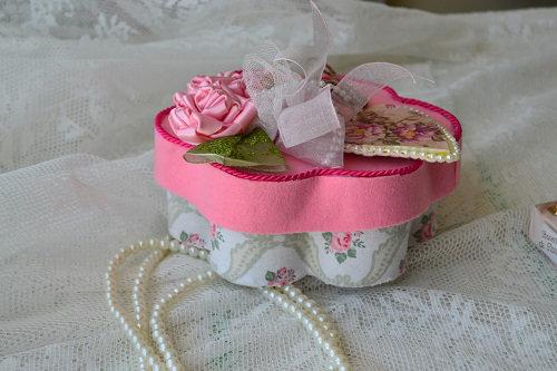 Porta joias com rolinhos de papel higiênico (3)