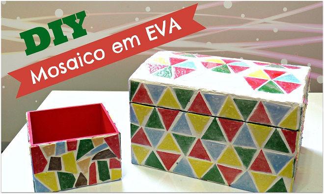 Prático! Aprenda como fazer mosaicos de EVA