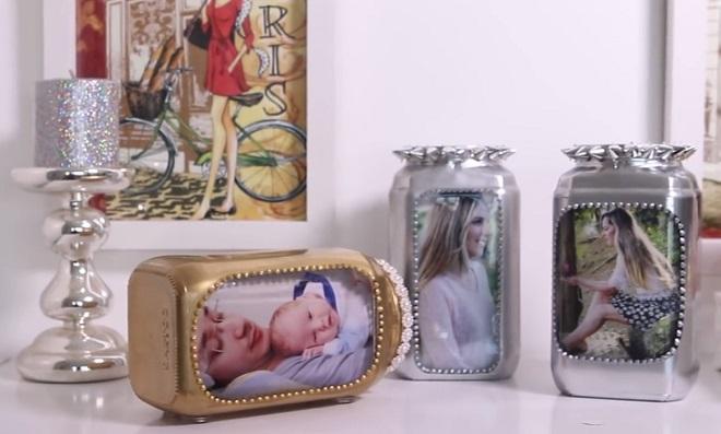 Marque momentos especiais com retratos em potes de vidro