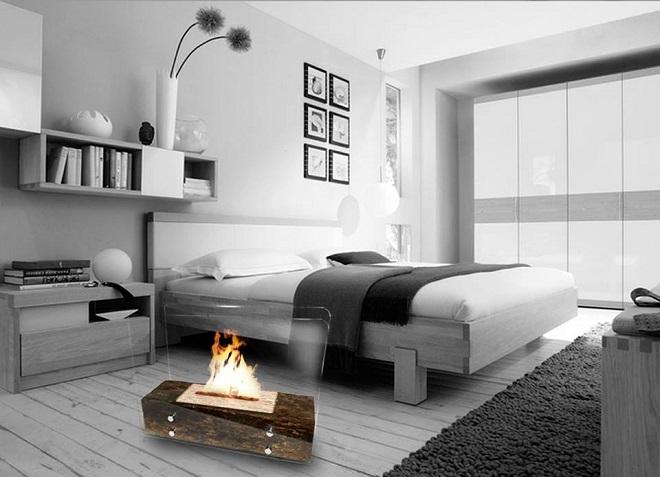 Aqueça sua casa com esta linda Lareira Eco portátil e artesanal!-002