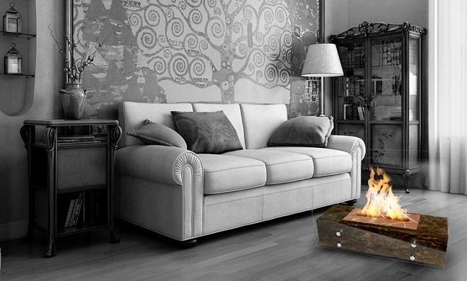 Aqueça sua casa com esta linda Lareira Eco portátil e artesanal!