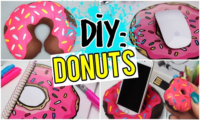 7 em 1! Ideias em formato de Donut cheio de cor e criatividade