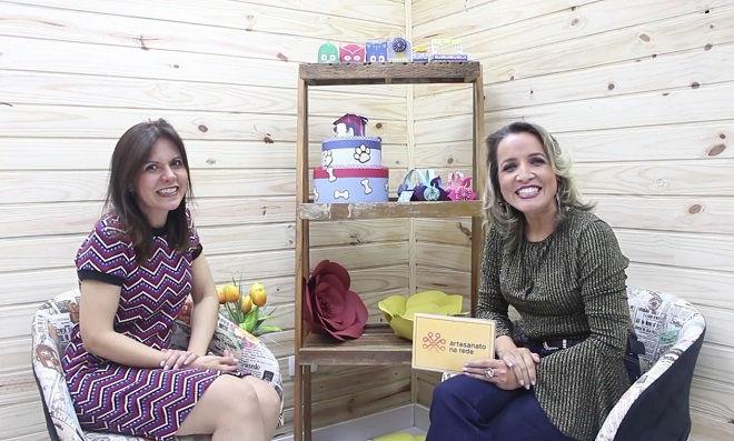 Andreia Bassan entrevista a artesã Cyntia Castro