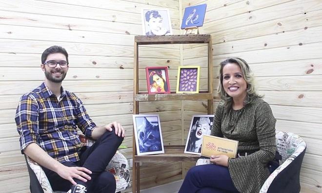 Andreia Bassan entrevista o artesão Paulo Pinheiro
