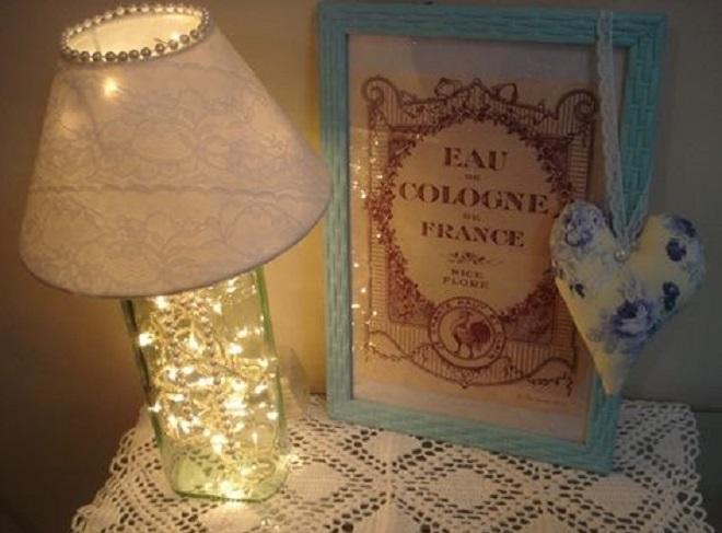 Festa e Casa: modelos de abajur decorativo - Abajur Pisca-pisca