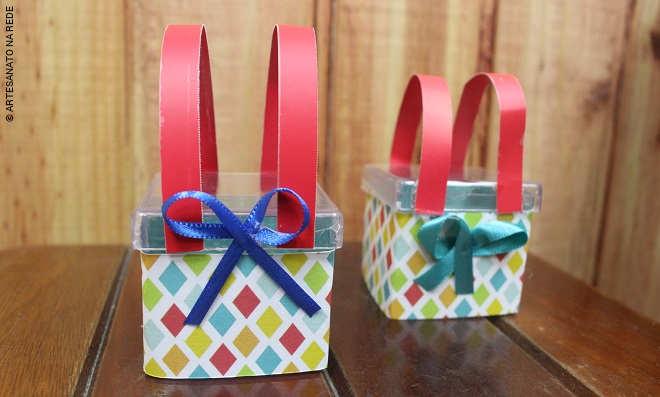 Aula rápida de acrílico: Caixa decorada com tema palhaço