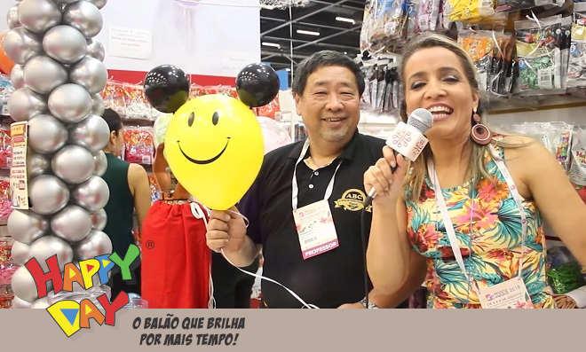 Mega Artesanal 2018 tem balões Happy Day para divertir sua festa